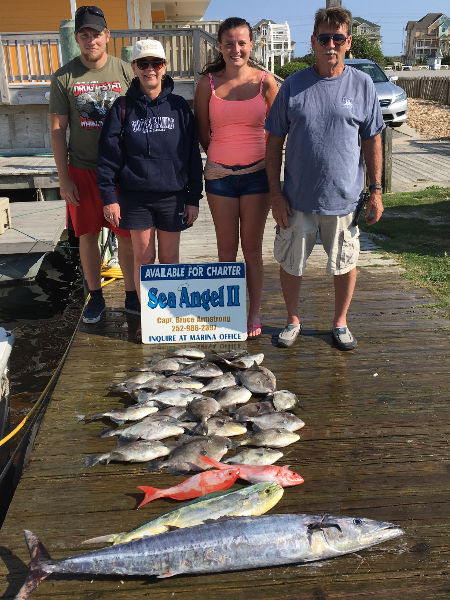 Hatteras Fishing Reports 2017